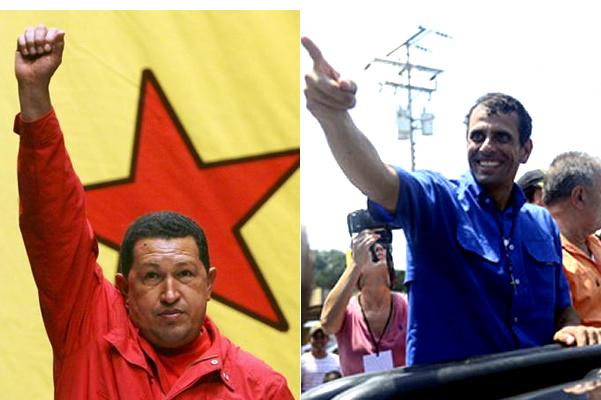 Hugo-Chavez-Henrique-Capriles