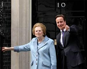 Margaret-Thatcher-David-Cameron