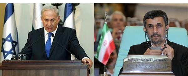Benjamin-Netanyahu-Mahmoud-Ahmadinejad