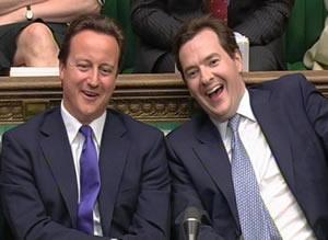 David-Cameron-George-Osborne-sneering