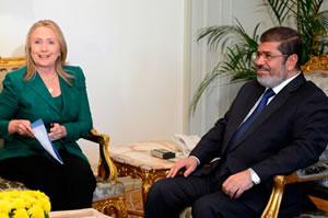 Hillary-Clinton-Mohamed-Morsi