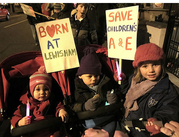 Save-Lewisham-Hospital-campaigners