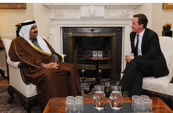 Sheikh-Hamad-bin-Khalifa-al-Thani-David-Cameron