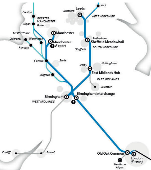 High-Speed-Rail-HS2-route-map-London-Birmingham-Manchester-Leeds