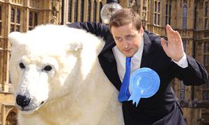 David Cameron polar bear