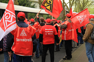 German trade unionists