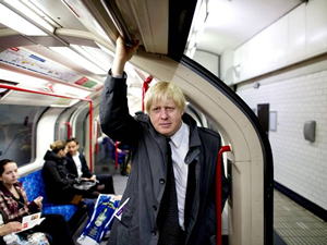 Boris on the underground