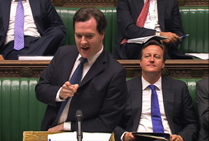 George Osborne parliament