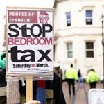 Bedroom Tax Protest-j
