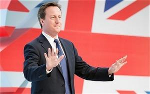 David Cameron Union Jackj
