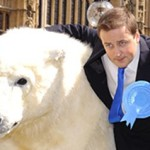 David Cameron polar bearj