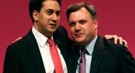 Ed Balls Ed Milibandj