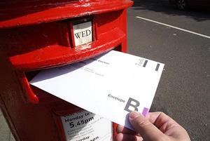 Postal votingj