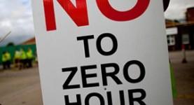 Zero hours contractsj