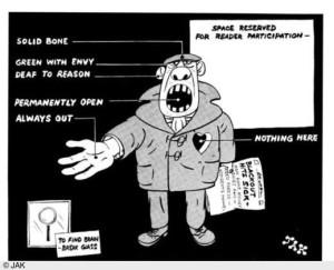 Standard cartoon trade unionsj