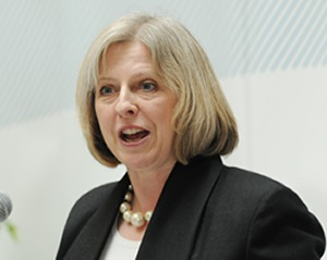 Theresa May no copyrightj