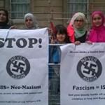 ISIS protestj
