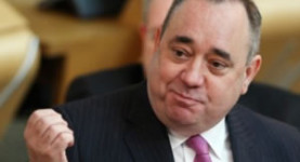 Classy: Fatty Salmond responds to the latest barbs about his competence