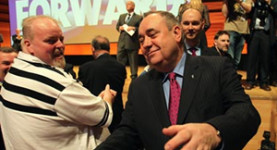 Alex Salmond at the 2012 SNP Conference
