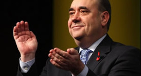In trouble: SNP first minister Alex Salmond