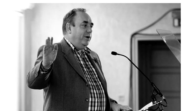 Alex Salmond: Wee Eck's taking Scotland back to the good old black and white days