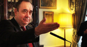 Alex Salmond: Losing it