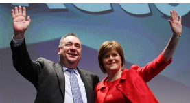 The SNP top two: Alex Salmond and Nicola Sturgeon