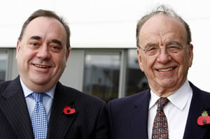 Alex Salmond and Rupert Murdoch: The Leveson Inquiry Report damns the Scottish first minister