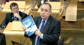 Alex Salmond: You may take his pies but you'll never take his freedom