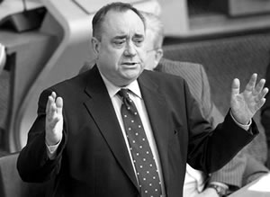 Not everything Alex Salmond says makes sense - in fact, none of it does