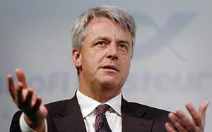 Under pressure: Health secretary Andrew Lansley
