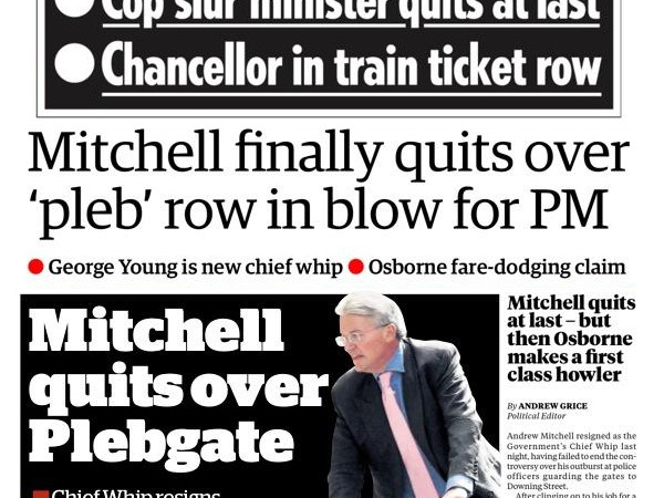 Andrew Mitchell and George Osborne: Oh, what a pair!