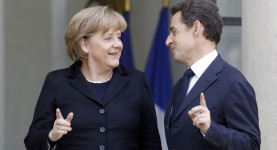 The future for Europe? Chancellor Merkel and President Sarkozy
