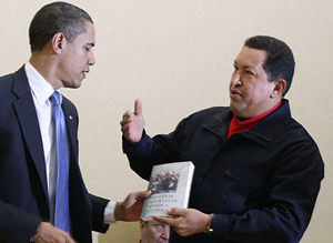Chavez gives Obama some tips on how to win an election...