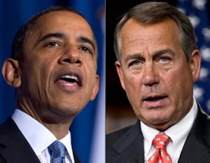 Barack v Boehner: FIIIIIIIIIIIGHT!