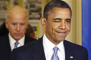 Wink-Commander-in-Chief: The President saved the world from going over the fiscal cliff