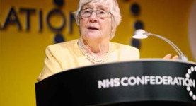 Fighting for the NHS: Baroness Shirley Williams hits out at the coalition's health reforms