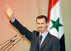 Evil incarnate: Syrian despot Bashar al-Assad
