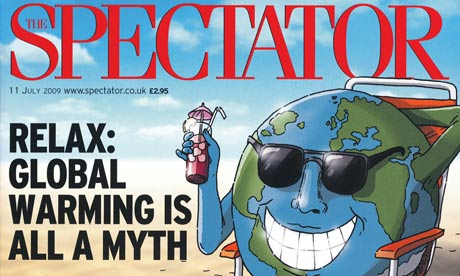 Spectator u-turn from position of climate denial