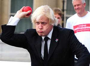 Barmy: Boris Johnson, the Mad Mayor of London