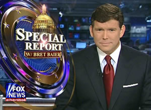 Video nasty: Right-winger Bret Baier
