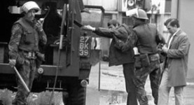 British soldiers in Northern Ireland during the Troubles