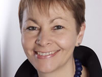 Green leader: Caroline Lucas