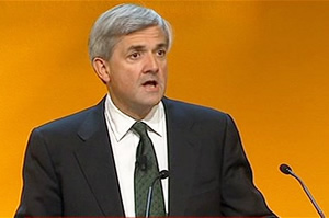 Mr Energy: Chris Huhne knows how to please two utilities at once...