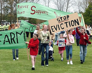 Forced out: The Dale Farm Travellers protest their eviction