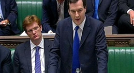 Danny Alexander and George Osborne: Wielders of the axe