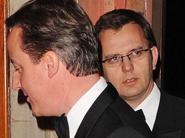 The prime minister and the parasite: David Cameron and scumbag bully Andy Coulson