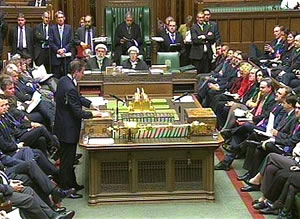 David Cameron v Ed Miliband, PMQs, 28/11/12