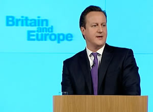David Cameron delivered his much-anticipated Europe speech yesterday