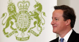 Mr Happy: David Cameron unveils the happiness index and wellbeing survey